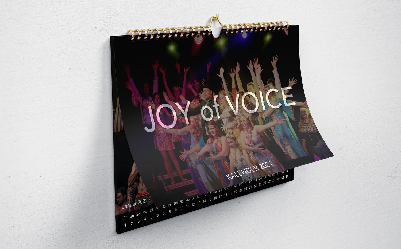 Der Joy of Voice Jahreskalender 2021