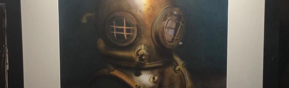 Diving helmet Aerografia