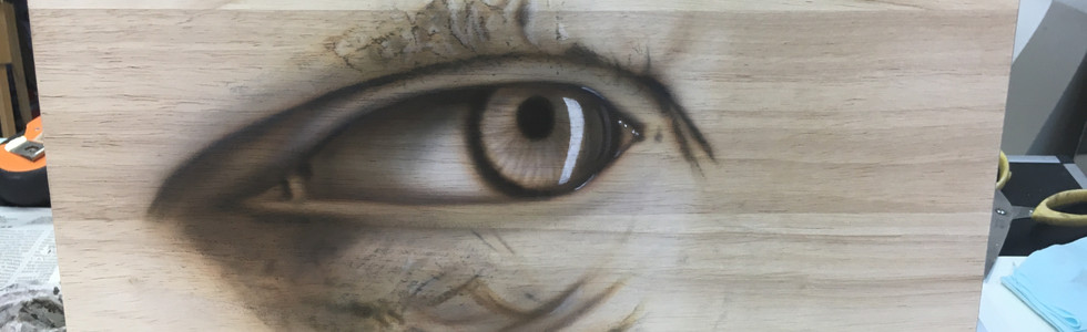 The Eye Aerografia