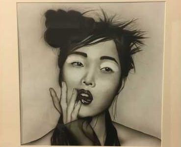 Aerografia Japan Girl