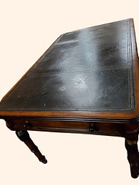 Leather Writing Desk