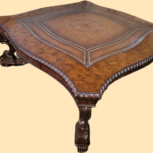 Maitland Smith, Leather Topped Coffee Table