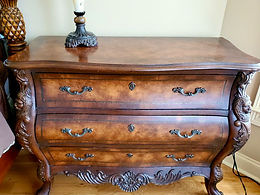 3 Drawer Chest W/ Beautiful Carvings