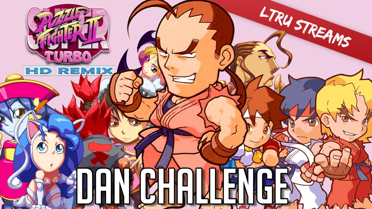 Puzzle Fighter - Dan Challenge