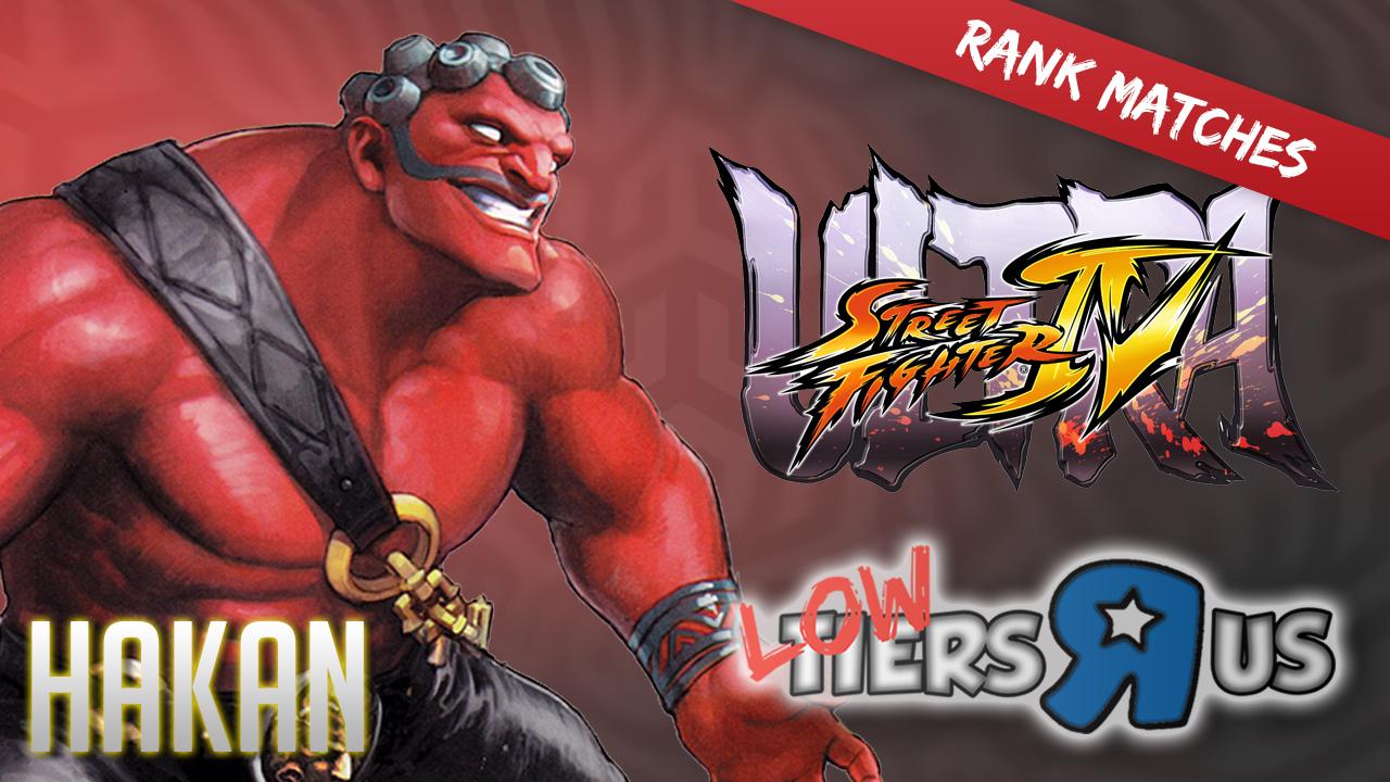 USF4 Rank Matches - HAKAN