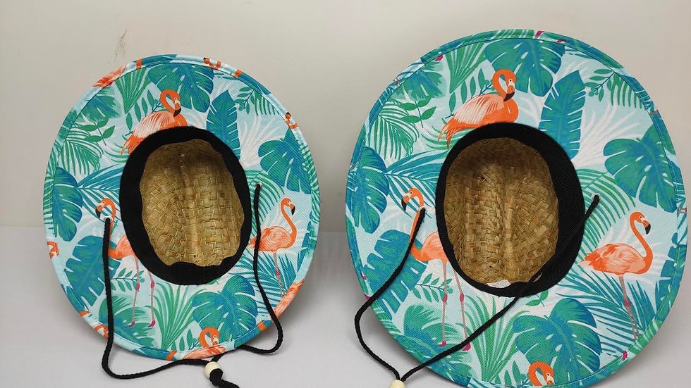 Adult - Matching Family Straw Hats