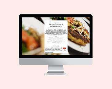 Maison Peculiar au bistronome site internet photographie