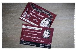 Maison Peculiar flyer carte de visite Graphisme