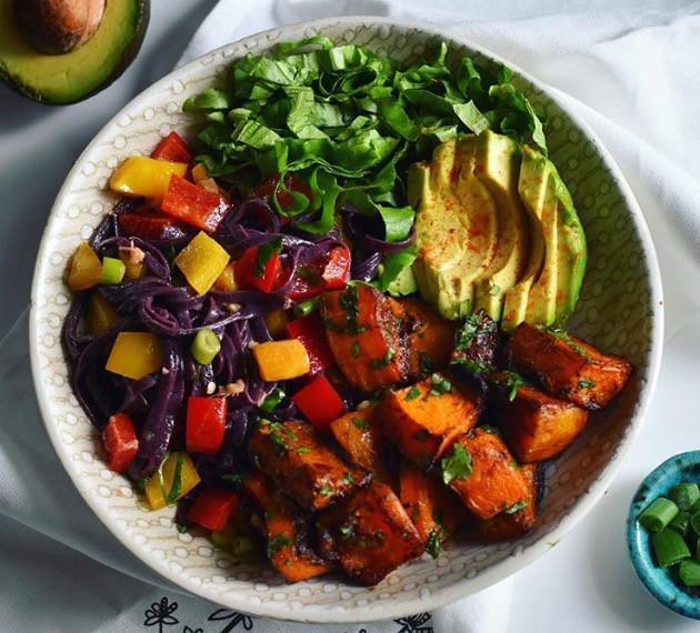 chili cilantro lime butternut squash