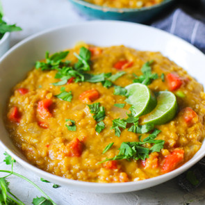 Easy Curry Red Lentil Soup