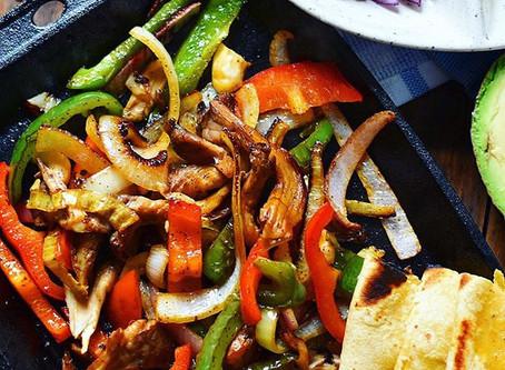 Chipotle Mushroom Fajitas