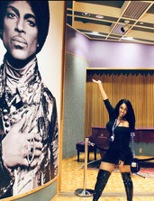 Me at Prince's Paisley Park Home