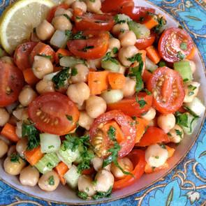 Herb Chickpea Salad
