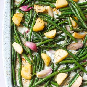 Easy Roasted Green Beans & Potatoes