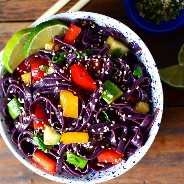 Cold Black Rice Noodles