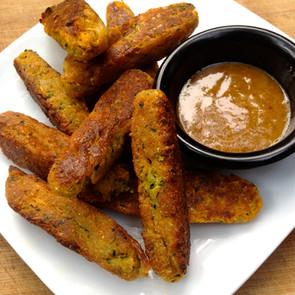 Sweet Potato Zucchini Sticks