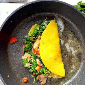 Easy Vegan Chickpea Omelette