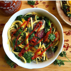 Spicy Pasta with Kale