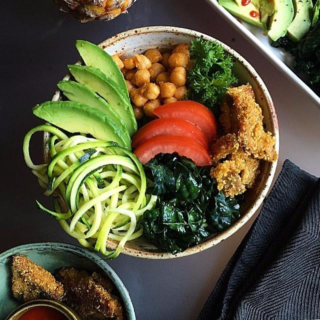 Beautiful Veggie Bowl