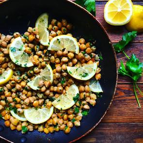 Garlic & Lemon Chickpeas