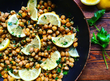 Garlic & Lemon Chickpeas