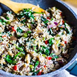 Savory Skillet Rice