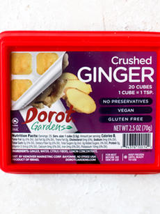 Crushed ginger