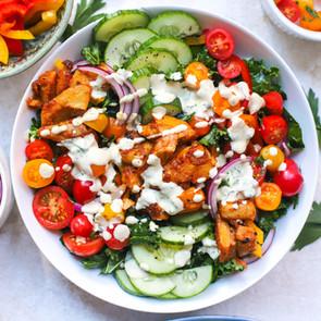 Buffalo Artichoke Salad