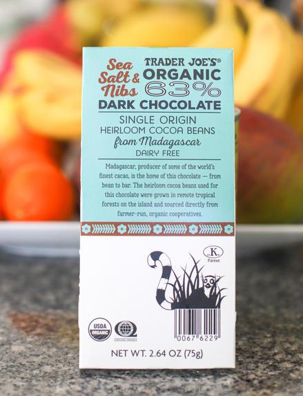 Organic Dark Chocolate with Sea Salt & Nibs