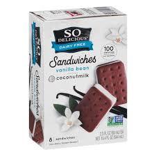So Delicious Ice Cream Sandwiches