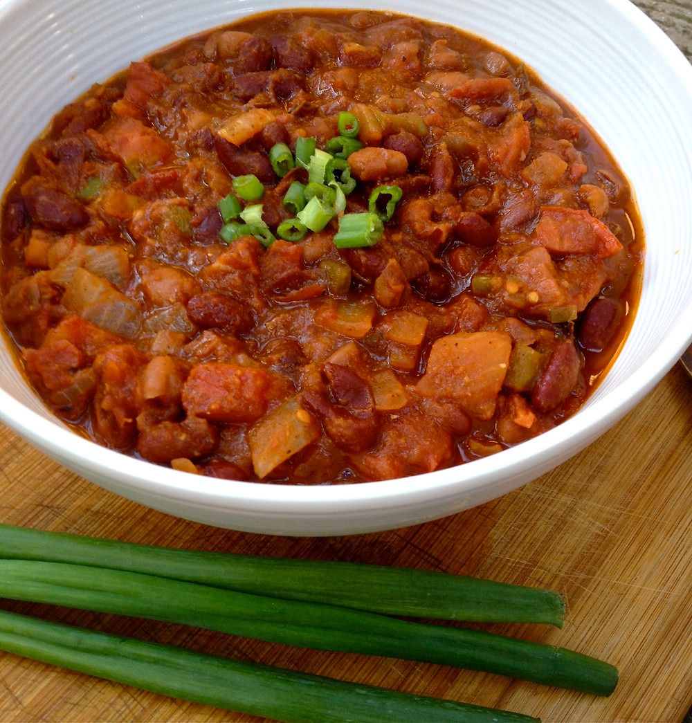 Vegan Chipotle Chili with Sun-Dried Tomatoes