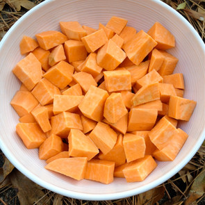Pecan Crusted Sweet Potato Cobbler!