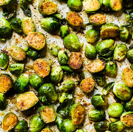 Chipotle Cinnamon Glazed  Brussel Sprouts