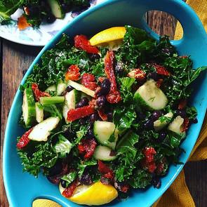 Kale Black Bean Salad