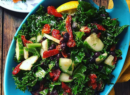 Kale Black Bean Salad
