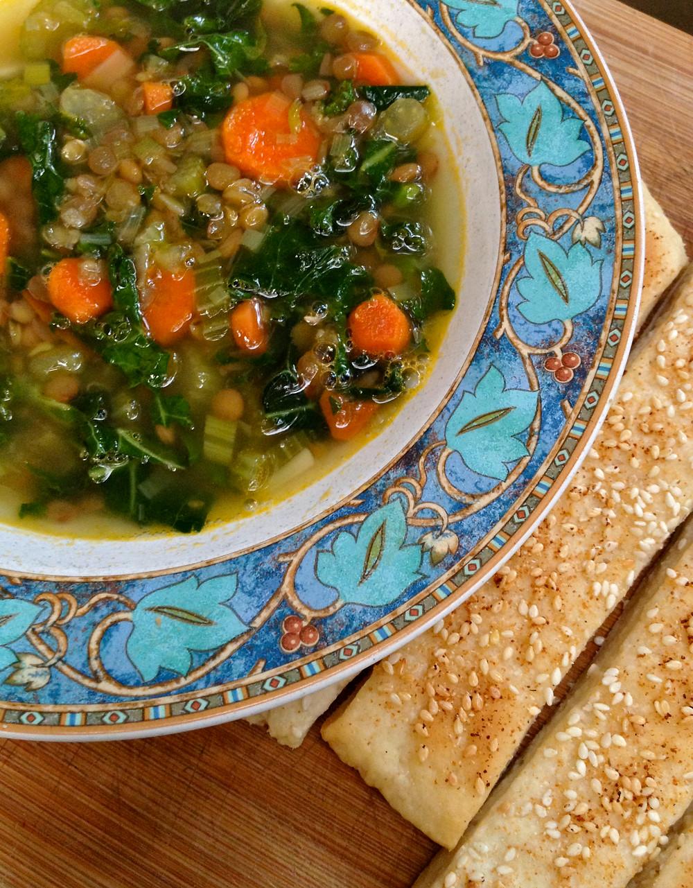 Kale Lentil Soup