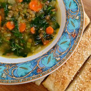 Kale Lentil Soup!!