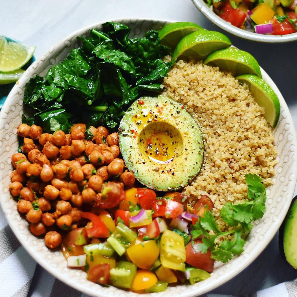 Chickpea Burrito Bowl