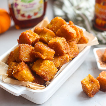Pumpkin French Toast Bites