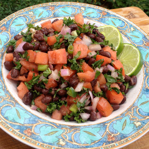 Black Bean Kale Salad!