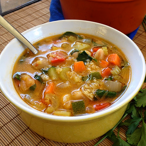 Super Simple Springtime Soup!