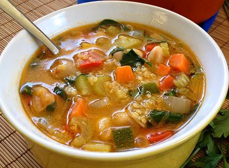 Super Simple Springtime Soup!