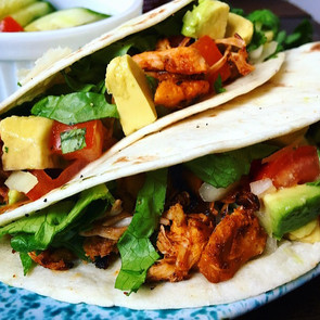 Jackfruit Tacos with Avocado Pico