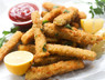 Fish Stick Style Fried Eggplant
