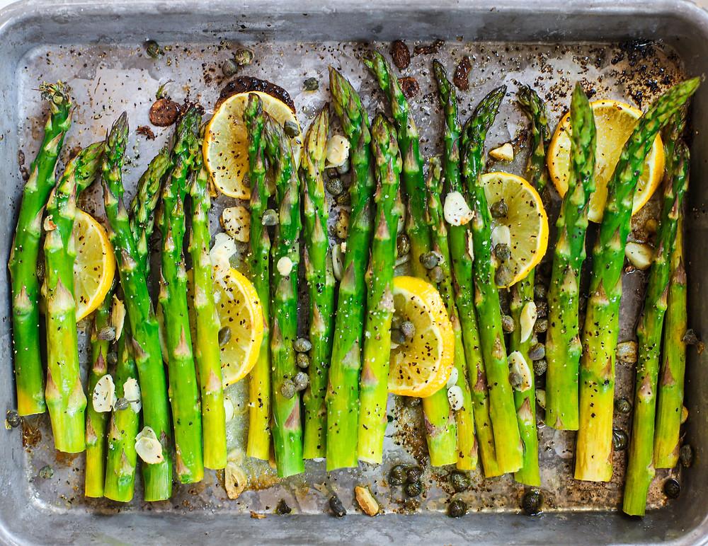 Roasted asparagus recipes