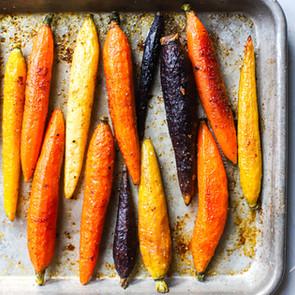 Chipotle Cinnamon Roasted Carrots