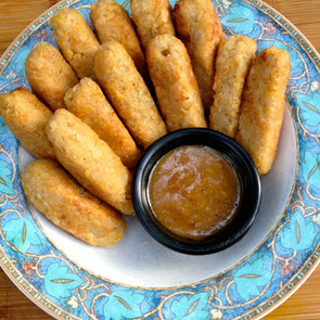 Chickpea Sticks! Kid Friendly