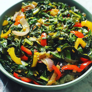 Sweet & Spicy Collard Greens