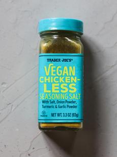 Vegan Chicken- Less Seasonings
