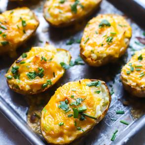 Cream Cheese Twice Baked Potatoes